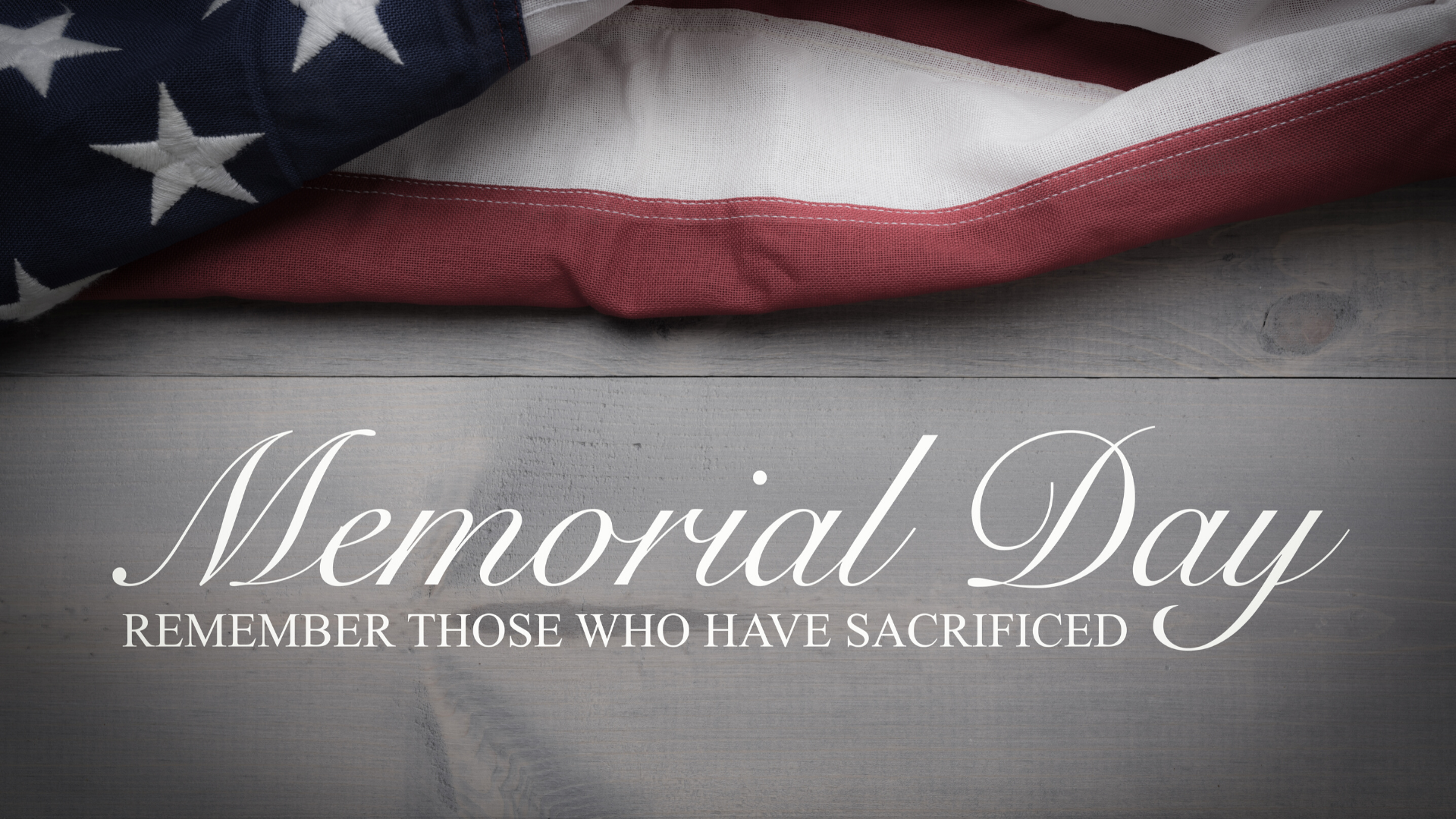 Read more about the article Memorial Day Weekend